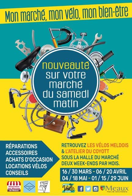 Les vélos meldois sur le marché de Meaux
