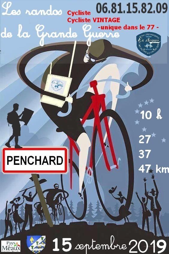 Les randos de la grande guerre, randonnée pour les cyclistes vintage